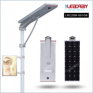 Led solar advertising light boxes